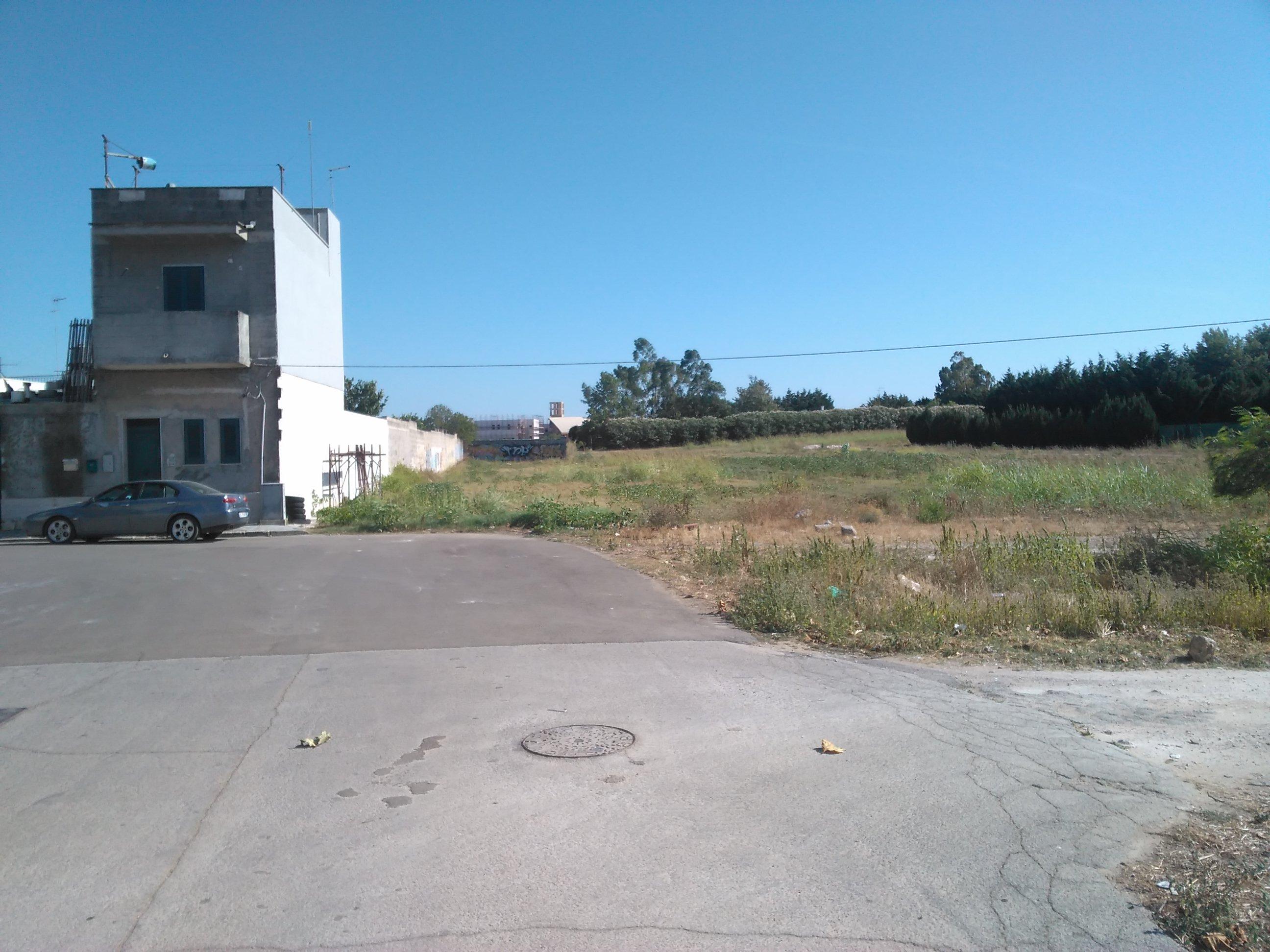 Mesagne (BR) - Prolungamento di Via Grazia Deledda.